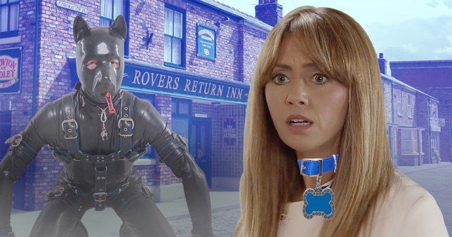Maria in Coronation Street dates a dog fetishist