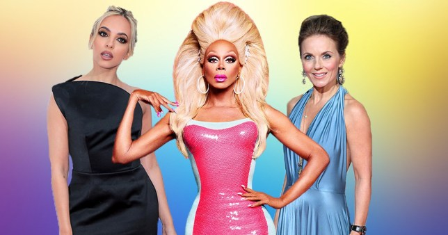 Jade Thirlwall RuPaul Geri Horner Drag Race UK