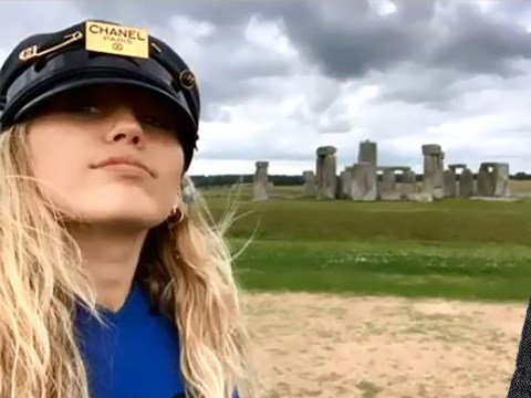Miley Cyrus wants to connect with aliens at Stonehenge after Glastonbury performance