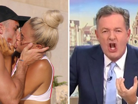 Piers Morgan disgusted by 'revolting' Love Island snogging sessions: 'They're sucking like octopuses'