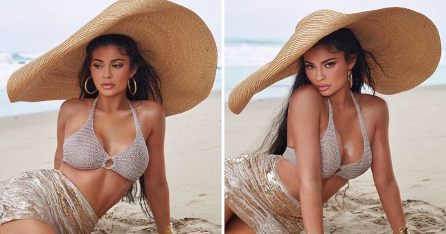 629f1760c0 Kylie Jenner channels old Hollywood as she launches new summer cosmetics  collection