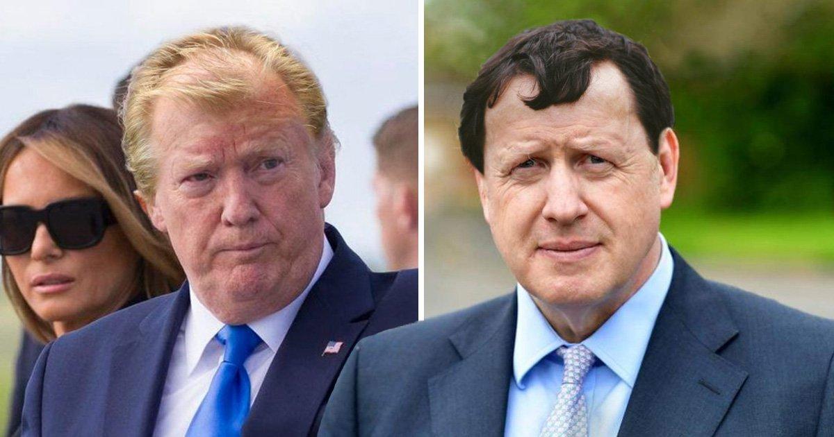 Football managers' hair on politicians