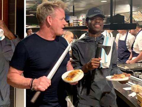 Lil Nas X and Gordon Ramsay made paninis together and it's definitive proof of 'don't ask, don't get'
