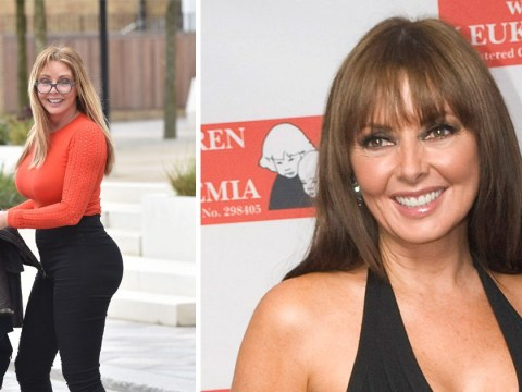 Carol Vorderman put on a stone in two weeks after having coil fitted