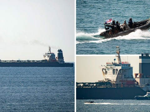 British forces land on oil tanker 'heading to Syria' in breach of EU sanctions