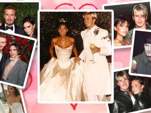 Victoria and David Beckham's 20 years of marriage in photos