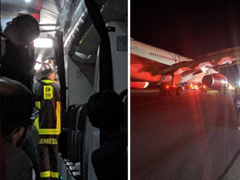 UK-bound Virgin Atlantic plane in emergency landing drama 'after phone charger starts fire'