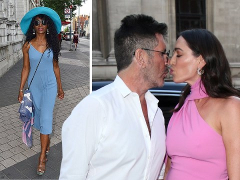 Simon Cowell and Lauren Silverman pack on PDA as Sinitta, Katie Piper and Louise Redknapp descend on Syco Summer party