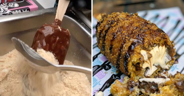 Someone's created a deep-fried vegan Magnum and suddenly we are ravenous