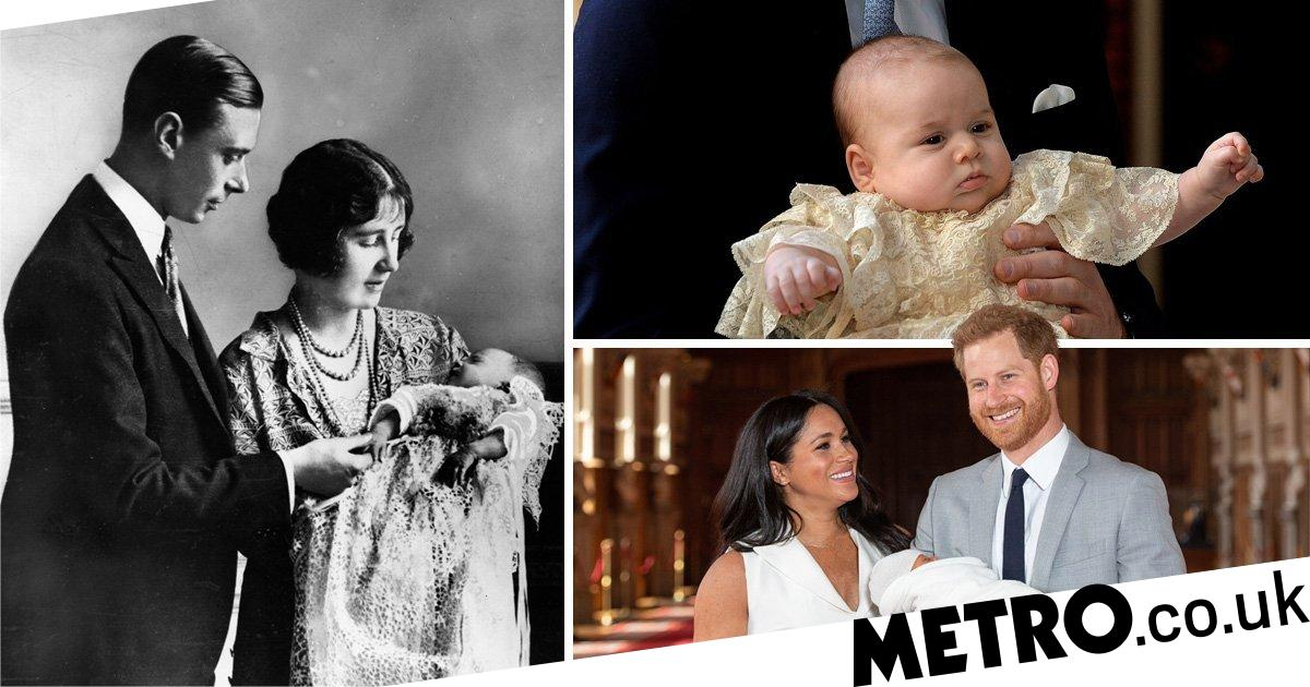 Meghan and Harry to carry on tradition of royal christenings on Archie's big day