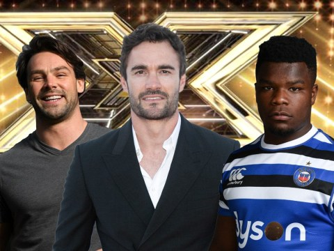 Rugby stars Thom Evans, Ben Foden and Levi Davis set to form boyband for celebrity X Factor