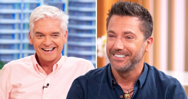 Gino DCampo and Phillip Schofield