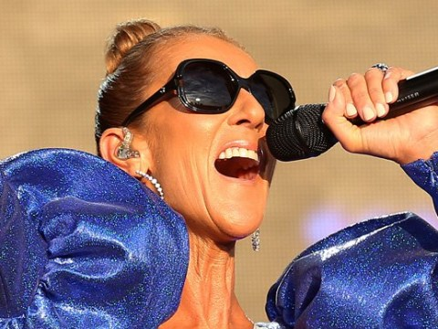 Celine Dion calls for peace and harmony as she performs to thousands in London's Hyde Park
