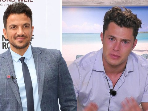 Peter Andre praises Love Island's Curtis for taking honesty to a 'whole new level'