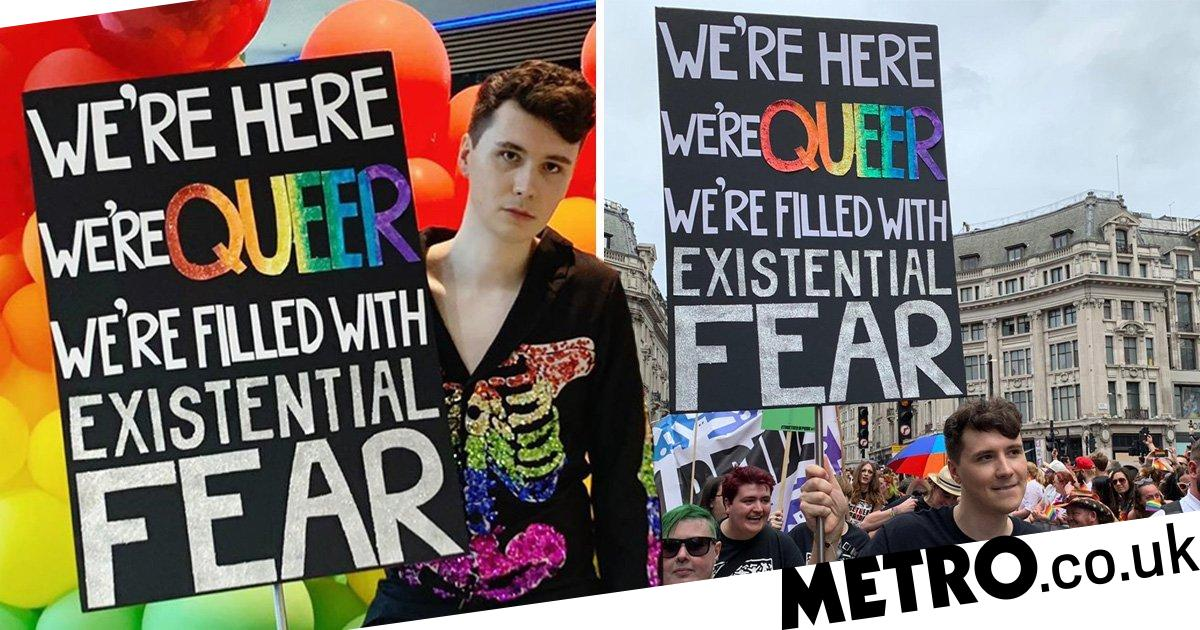 Dan Howell Attends London Pride 2019 With The Most Amazing