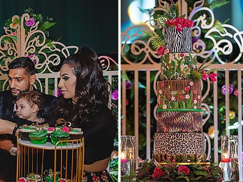 Baker who made Amir Khan's daughter's five-tier cake took two days off work for creation
