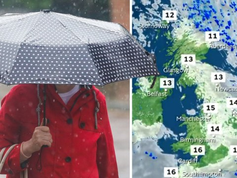 Thunderstorms forecast across whole country after a brief break of sunshine