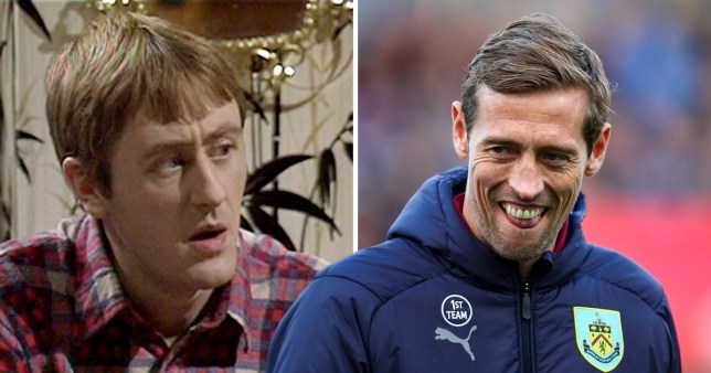 Rodney Trotter, played by Nicholas Lyndhurst and Peter Crouch