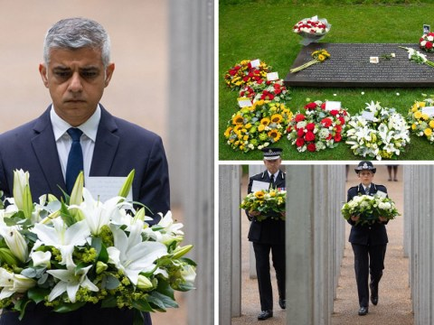Sadiq Khan honours 52 victims killed in 7/7 bombings with flowers on anniversary