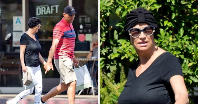 Vinnie Jones pictured with wife Tanya before her death