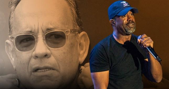 Tom Hanks and Hootie & the Blowfish's Darius Rucker