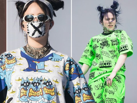 You can own Billie Eilish's Glastonbury outfit as she and more stars donate to Oxfam