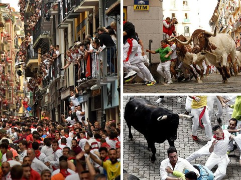 Woman, 19, gored in spine on second day of Running of the Bulls festival