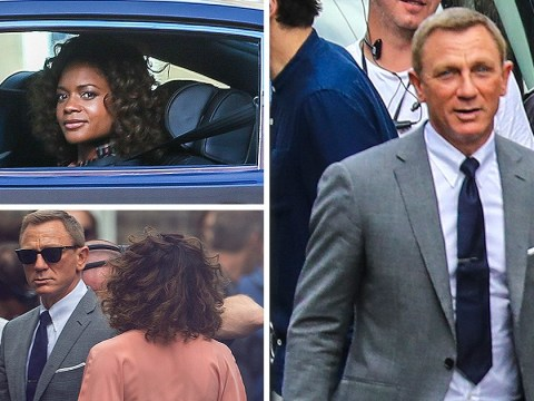 Daniel Craig and Naomie Harris film first Bond 25 scenes after she addresses characters' romantic chemistry