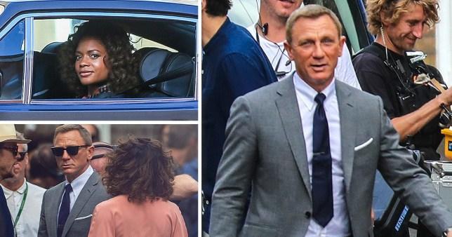Bond 25: Daniel Craig and Naomie Harris reunite to film ...