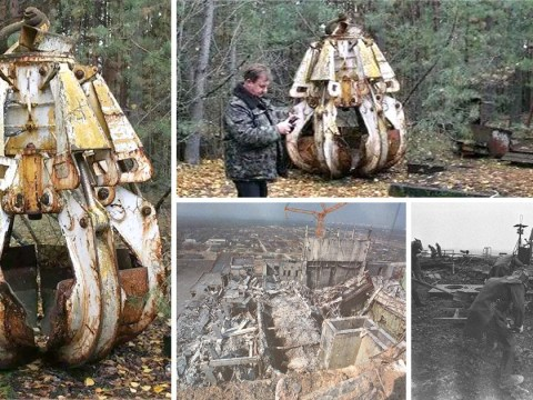 Chernobyl digger claw could kill you 33 years after nuclear disaster