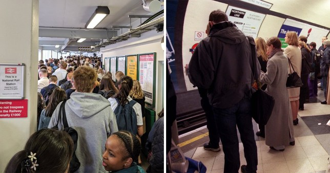 Second day of commuter chaos on the Northern Line
