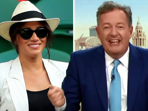 Piers Morgan warns Meghan Markle will 'drive the public nuts' as Wimbledon photo rage continues: 'You're not a celebrity any more'