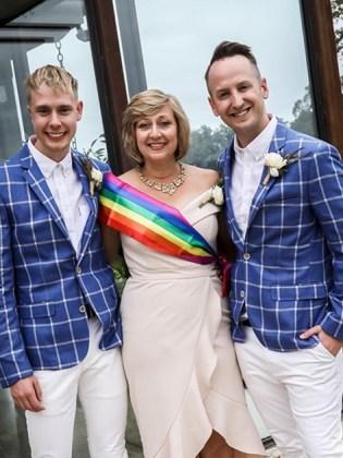 MORE: Christian mum walks gay son down the aisle while