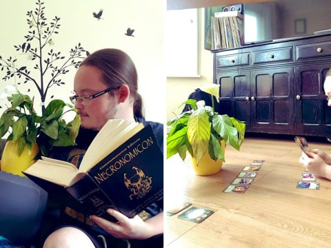Woman asks her housemate to mind her plants and he takes it very seriously