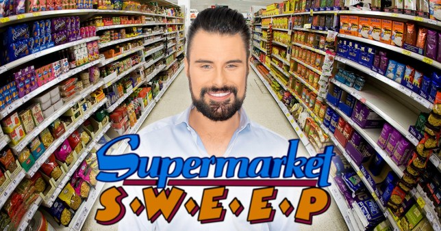 Comp of Rylan Clark-Neal and Supermarket Sweep