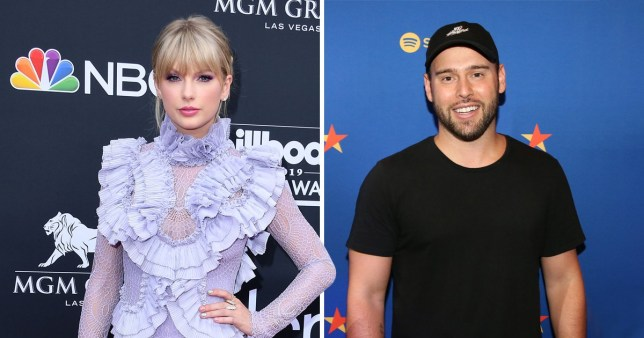 Scooter Braun Jokes About Taylor Swift Drama With Faceapp Challenge Metro News