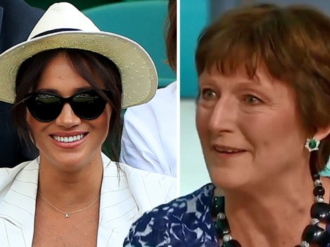 Wimbledon fan 'gobsmacked' after being told to stop taking photos of Meghan Markle