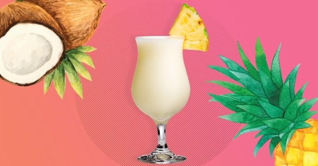 A delicious Pina Colada