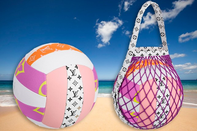 Louis Vuitton sells volleyball for £2,113