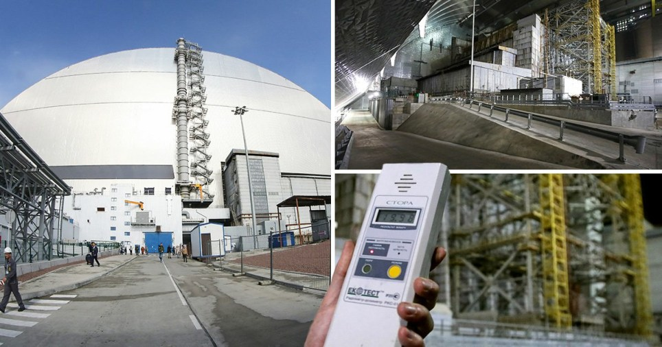 New £2,000,000,000 dome over toxic Chernobyl nuclear reactor officially opens