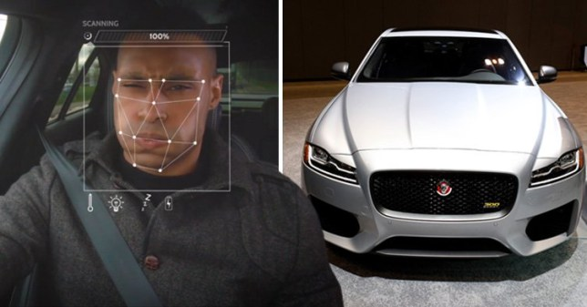Jaguar Land Rover is developing a 'mood detection system' (Jaguar)