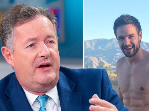 Piers Morgan really isn't a fan of Liam Payne's 'cringe' naked photoshoot