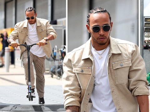 Yes, Lewis Hamilton is really trying to make scooters happen too