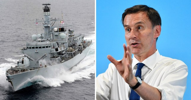 Jeremy Hunt has pledged to increase defence spending from 2% of GDP to 2.5%, at a cost of around £12 billion a year extra in 2023 (Picture: Reuters; EPA)
