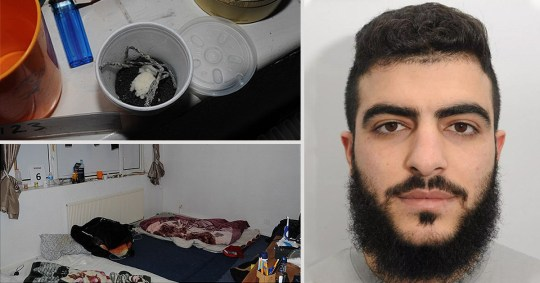 Farhad Salah, 24, plotted an attack using an explosive device in a remotely-controlled vehicle back in 2017