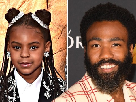 Blue Ivy narrates Lion King to Donald Glover's son