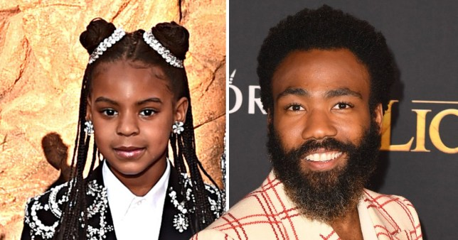 Blue Ivy loves Lion King says Donald Glover.