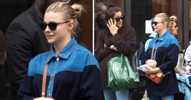 Chloe Grace Moretz gets some retail therapy in Harrods ...