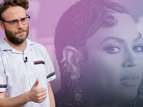 Seth Rogen thinks Beyonce needs to be celebrated for existing and we're fully on board