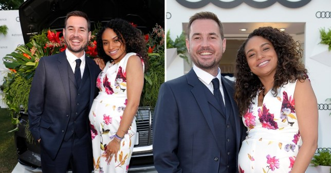 Martin Compston and Tianna confirm their pregnancy